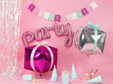 Banner Happy Birthday Mix, Roz [2]