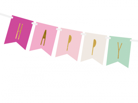 Banner Happy Birthday Mix, Roz [1]