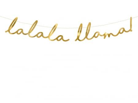 Banner Llama Party, Auriu [0]