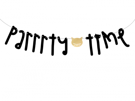 Banner Pisicuta, Parrrty Time0