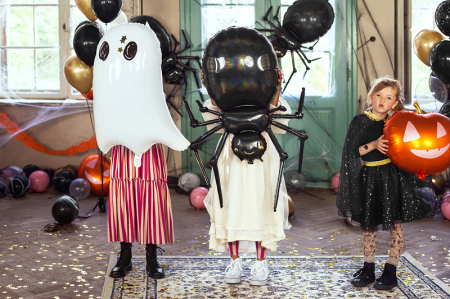 Balon Folie Dovleac Halloween - 40x40 cm [2]