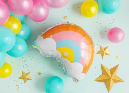 Balon Folie Curcubeu - 55x40 cm [1]