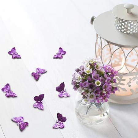 Confetti holografice, fluturi [1]