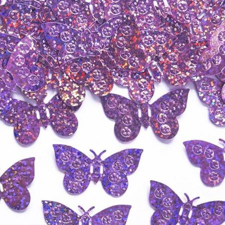 Confetti holografice, fluturi [0]