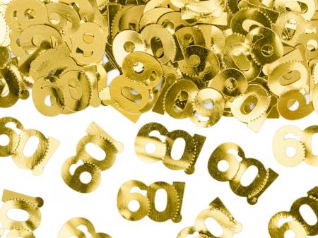 Confetti metalice 60, Auriu [0]