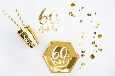 Confetti metalice 60, Auriu [1]