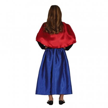 Costum Anna Frozen, 5-6 ani1