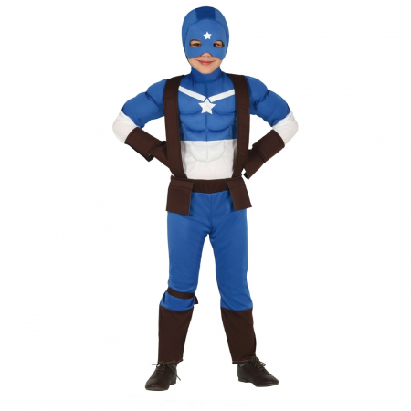 Costum Captain Marvel 7 - 9 ani
