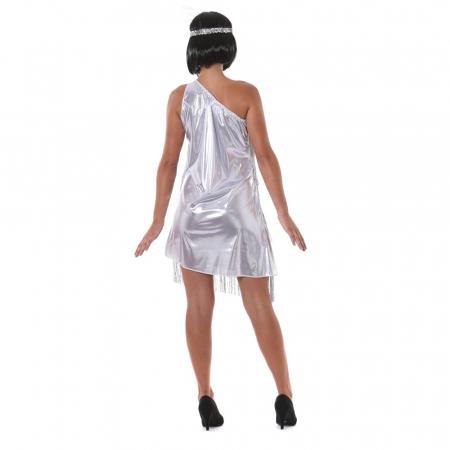 Costum Charleston Argintiu1
