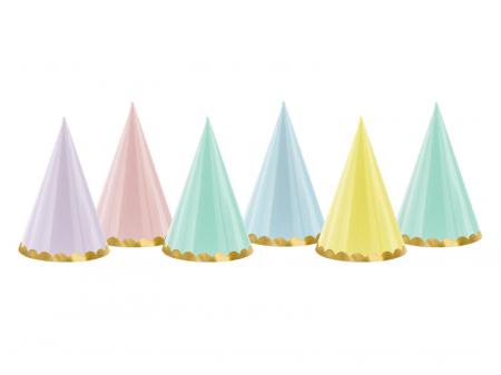 Set 6 Coifuri Yummy, Multicolor [0]