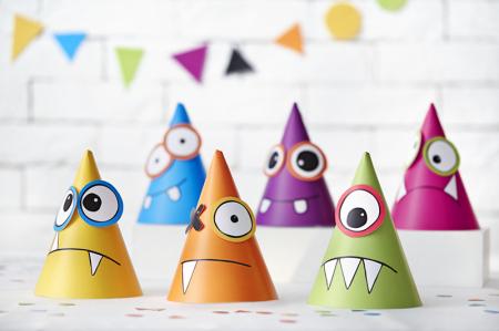 Set 6 Coifuri Monsters Multicolor [1]
