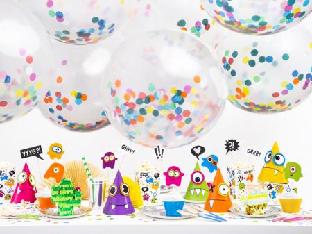 Set 6 Coifuri Monsters Multicolor [2]