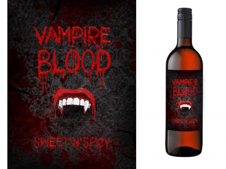 Etichete Sticle Vampire Blood0