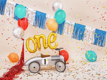 Balon Folie One, Auriu - 66x37 cm [1]