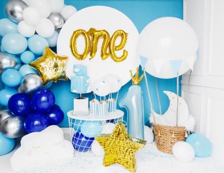 Balon Folie One, Auriu - 66x37 cm [2]