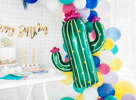 Balon Folie Cactus - 60x82 cm2
