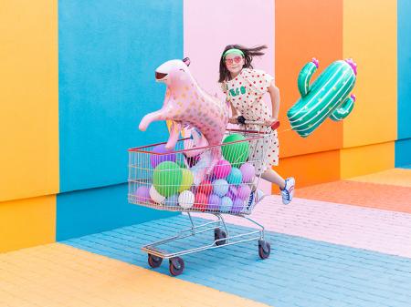 Balon Folie Cactus - 60x82 cm5