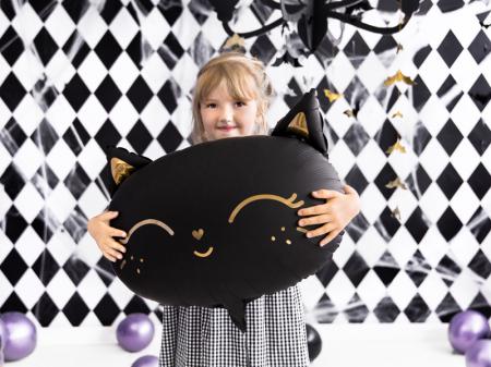Balon Folie Pisica, Negru - 48x36 cm [1]