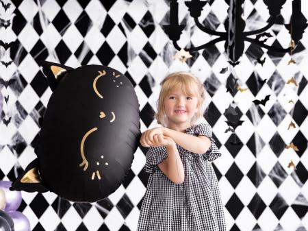 Balon Folie Pisica, Negru - 48x36 cm [2]