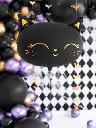 Balon Folie Pisica, Negru - 48x36 cm [3]
