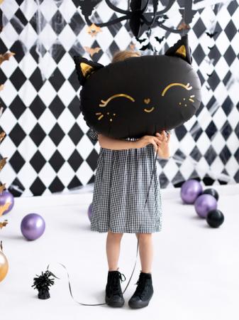 Balon Folie Pisica, Negru - 48x36 cm [4]