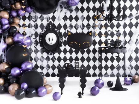 Balon Folie Pisica, Negru - 48x36 cm [6]