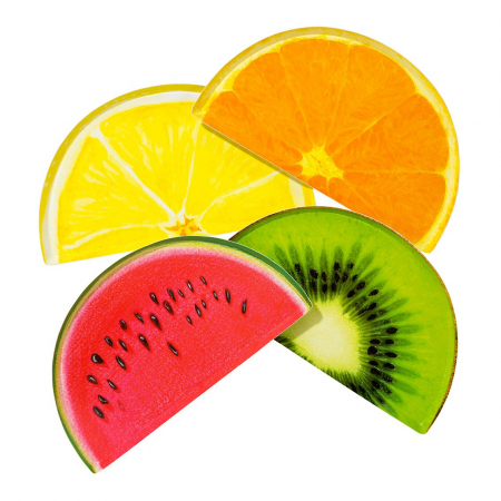 Set 12 Farfurii Fructe Tropicale [0]
