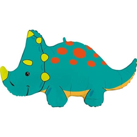 Balon Folie Triceratops - 91 cm