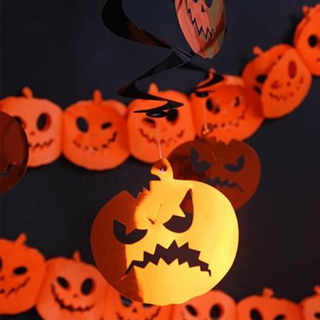 Ghirlande Halloween, dovleci3