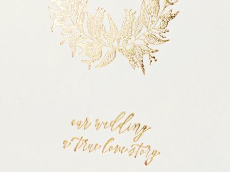 Guest Book Crem - True Love Story [1]