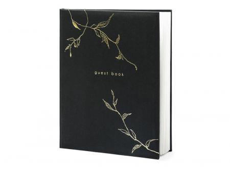 Guest Book Negru - Crengute0