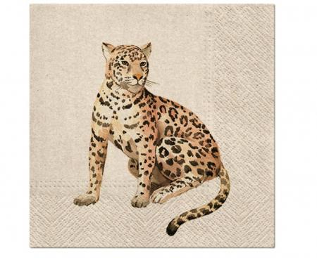 Set 20 Servetele cu doua fete Leopard [0]