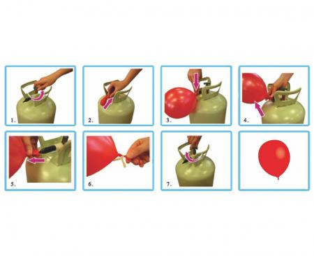 Butelie Heliu 50 Baloane [3]