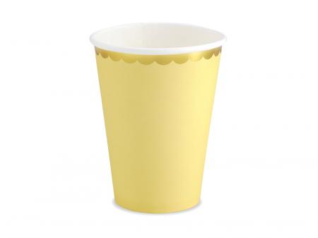 Set 6 Pahare Galbene, 220 ml [0]