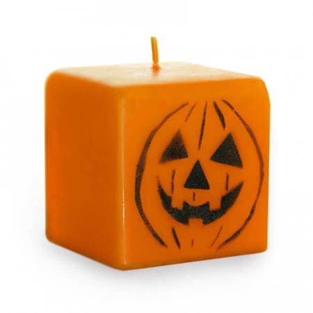 Lumanare, Dovleac Halloween, 7 cm [0]
