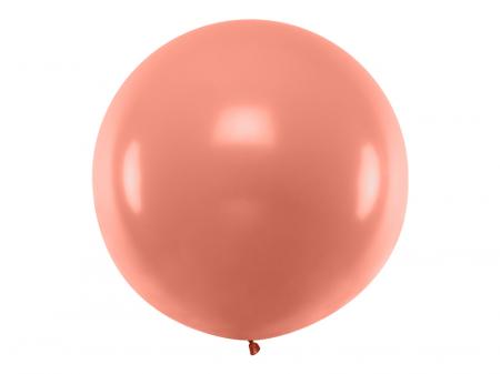 Balon Jumbo Rose Gold Metalizat - 100 cm0