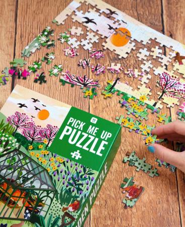 Puzzle Gradinarit - 500 Piese2