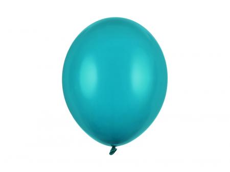 Set 10 Baloane Albastru Lagoon Pastel - 30 cm [0]