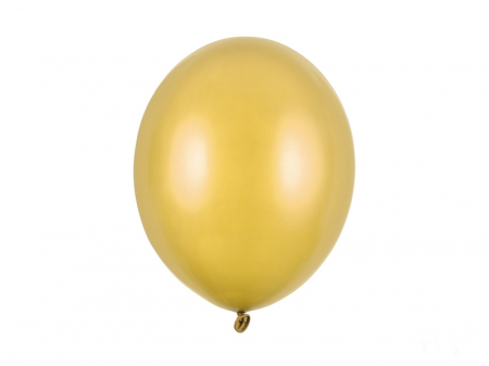 Set 10 Baloane Auriu Metalizat - 30 cm [0]