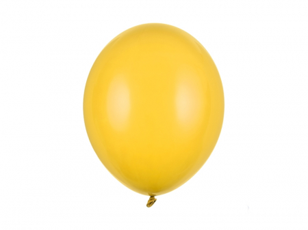 Set 10 Baloane Galben Miere Pastel - 30 cm [0]