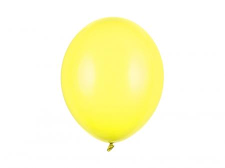 Set 10 Baloane Galben Pastel - 30 cm [0]