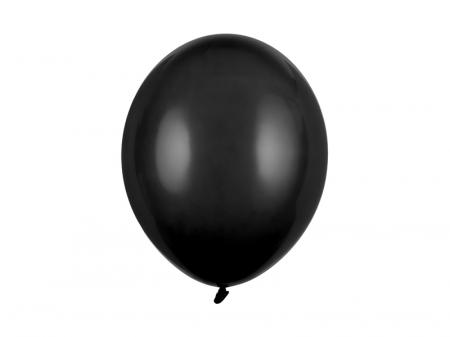 Set 10 Baloane Negru Pastel - 30 cm [0]
