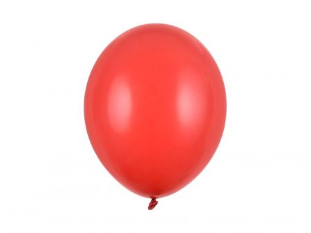 Set 10 Baloane Rosii Pastel - 30 cm [0]