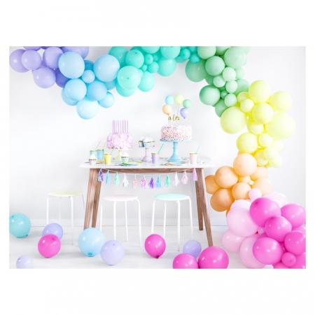 Set 10 Baloane Roz Pastel - 27 cm2