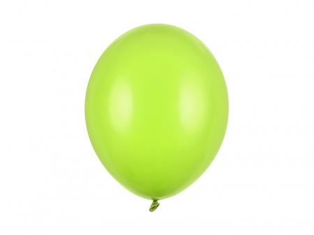 Set 10 Baloane Verde Lime Pastel - 30 cm [0]