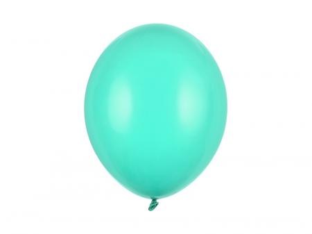 Set 10 Baloane Verde Menta Pastel - 30 cm [0]