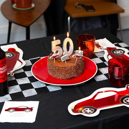 Set 16 Servetele Happy Birthday Party Racer2