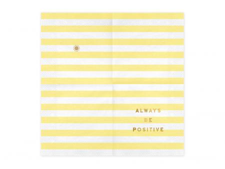 Set 20 Servetele Always be positive [1]
