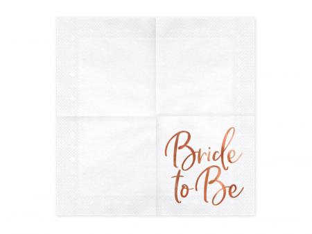 Set 20 Servetele Bride to Be1