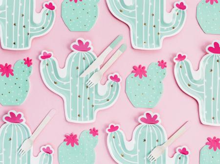 Set 20 Servetele Cactus2